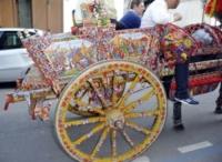 Sicilia - Palermo - 13-10-2013 - Il carretto siciliano, una tradizione senza tempo