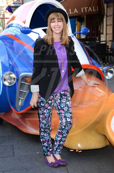 Kate Garraway - Londra - 06-10-2013 - Nostalgia della primavera? Curatela con i fiori… sui pantaloni