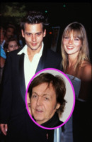 Los Angeles - 01-01-2000 - Johnny Depp e Kate Moss di nuovo insieme per Paul McCartney