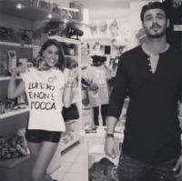 Francesco Monte, Cecilia Rodriguez - Los Angeles - 14-10-2013 - Dillo con un tweet: Cecilia Rodriguez, Francesco e' mio