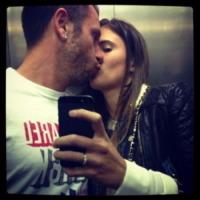 Carolina Cassano, Antonio Cassano - Los Angeles - 14-10-2013 - Dillo con un tweet: Cecilia Rodriguez, Francesco e' mio