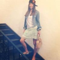 Elisabetta Canalis - Los Angeles - 14-10-2013 - Dillo con un tweet: Cecilia Rodriguez, Francesco e' mio