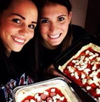 Carolina Cassano - Los Angeles - 14-10-2013 - La pizza patrimonio dell'Unesco: ma le star lo sapevano già!