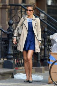 Helena Christensen - New York - 14-10-2013 - L'autunno è alle porte: è tempo di trench!