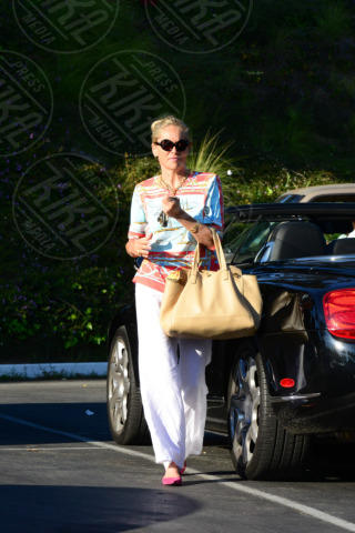 Sharon Stone - Hollywood - 15-10-2013 - Sharon Stone e i bigodini: perché io posso