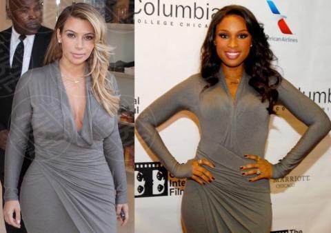 Kim Kardashian, Jennifer Hudson - 16-10-2013 - Kim Kardashian o Jennifer Hudson: chi lo indossa meglio?