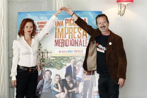 Barbora Bobulova, Rocco Papaleo - Milano - 16-10-2013 - Rocco Papaleo: il mio primo prete, il lieto fine e i pregiudizi