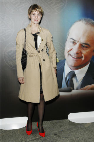 Elena Radonicich - Milano - 16-10-2013 - L'autunno è alle porte: è tempo di trench!