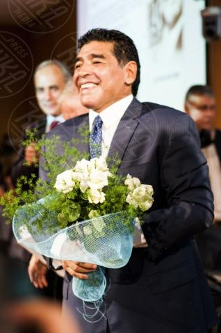 "Diego Armando Maradona - Milano - 17-10-2013 - Diego Armando Maradona: ""Sogno la panchina del Napoli"""