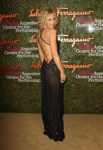 Maria Bello - Los Angeles - 17-10-2013 - Vade retro abito! Le stelle celebrano Salvatore Ferragamo