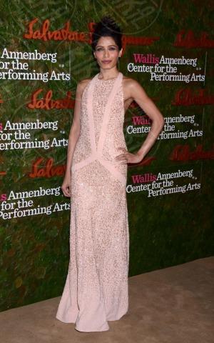 Freida Pinto - Beverly Hills - 17-10-2013 - Vade retro abito! Le stelle celebrano Salvatore Ferragamo