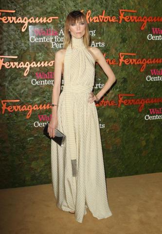 Anya Ziourova - Beverly Hills - 18-10-2013 - Vade retro abito! Le stelle celebrano Salvatore Ferragamo