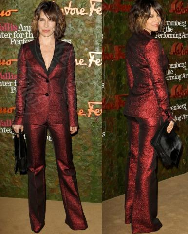 Evangeline Lilly - 18-10-2013 - Vade retro abito! Le stelle celebrano Salvatore Ferragamo