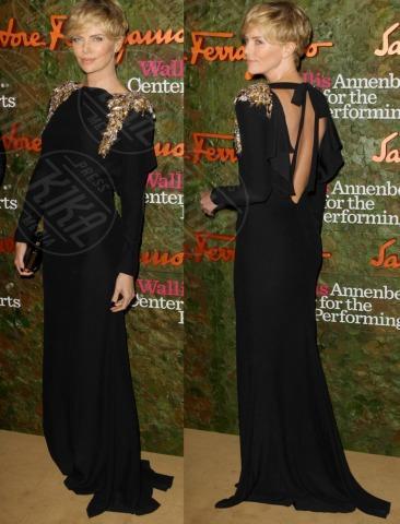 Charlize Theron - 18-10-2013 - Vade retro abito! Le stelle celebrano Salvatore Ferragamo