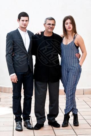 Jeremie Laheurte, Adèle Exarchopoulos, Abdellatif Kechiche - Roma - 16-10-2013 - La Palma d'Oro La vita di Adele arriva in Italia