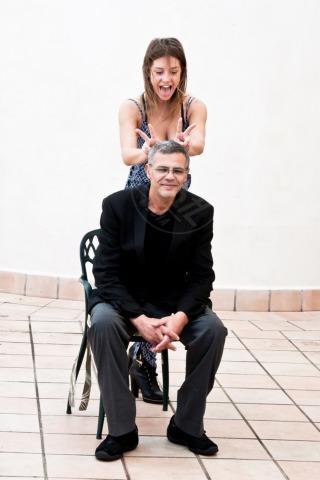 Adèle Exarchopoulos, Abdellatif Kechiche - Roma - 16-10-2013 - La Palma d'Oro La vita di Adele arriva in Italia