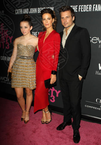 Lily Mo Sheen, Len Wiseman, Kate Beckinsale - Santa Monica - 20-10-2013 - Anne Hathaway splendida madrina del Pink Party