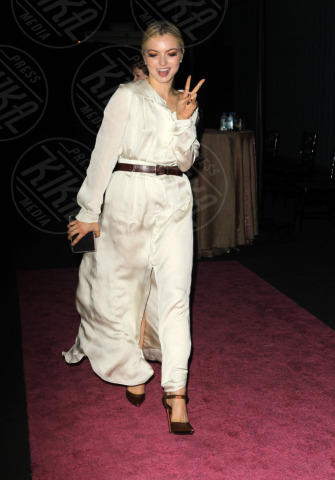 Francesca Eastwood - Santa Monica - 20-10-2013 - Anne Hathaway splendida madrina del Pink Party