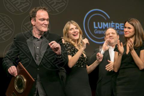 Aurelie Filippetti, Melanie Laurent, Harvey Weinstein, Quentin Tarantino - Lyon - 18-10-2013 - Scandalo Weinstein, la confessione shock di Quentin Tarantino