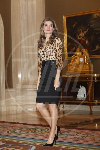 Letizia Ortiz principessa di Spagna - Madrid - 21-10-2013 - Bianca, colorata o fantasia: qual è la tua camicia?