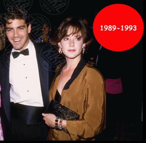 Talia Balsam, George Clooney - Hollywood - 27-12-2005 - Bomba a Hollywood: la nuova coppia si chiama Clooney-Holmes