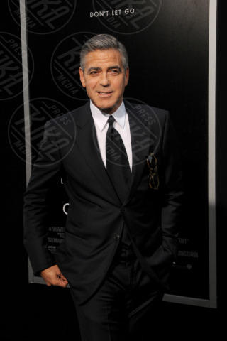 George Clooney - New York - 02-10-2013 - Slitta l'uscita nelle sale di The Monuments Men