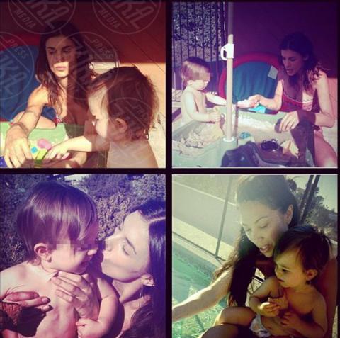 Elisabetta Canalis - Los Angeles - 21-10-2013 - Dillo con un tweet: il lato materno di Elisabetta Canalis