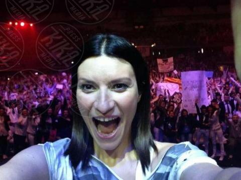 Laura Pausini - Los Angeles - 21-10-2013 - Dillo con un tweet: il lato materno di Elisabetta Canalis