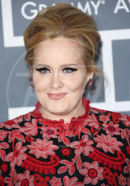 Adele - Los Angeles - 10-02-2013 - One Direction al primo posto nella lista dei paperoni UK