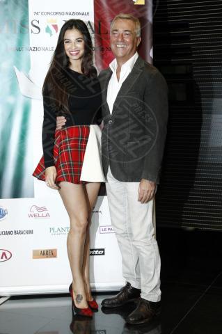 Francesca Chillemi, Massimo Ghini - Milano - 22-10-2013 - Miss Italia: Giusy Buscemi pronta a passare il testimone