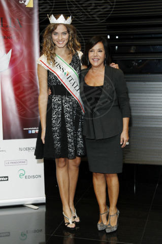 Giusy Buscemi, Patrizia Mirigliani - Milano - 22-10-2013 - Miss Italia: Giusy Buscemi pronta a passare il testimone