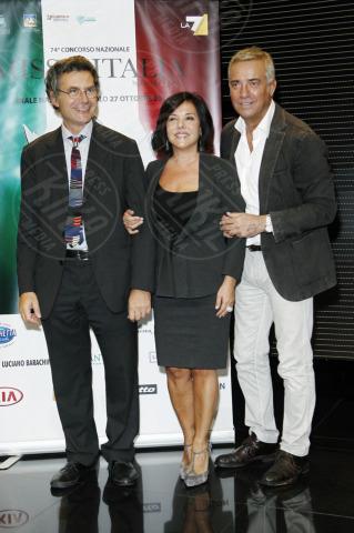 Patrizia Mirigliani, Paolo Ruffini, Massimo Ghini - Milano - 22-10-2013 - Miss Italia: Giusy Buscemi pronta a passare il testimone