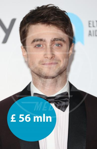 Daniel Radcliffe - Londra - 15-10-2013 - One Direction al primo posto nella lista dei paperoni UK