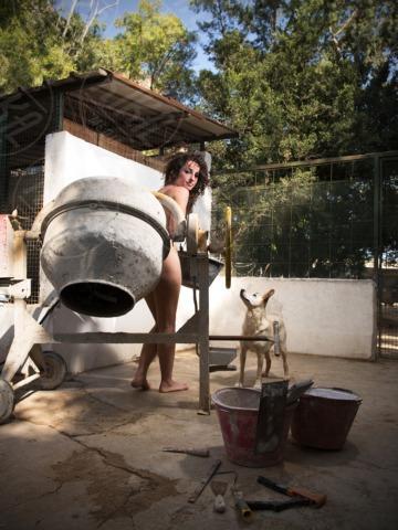 Nudi per amore - Palermo - 11-02-2013 - Nudi per amore: il calendario del canile di Palermo