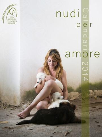 Nudi per amore - Palermo - 31-12-2012 - Nudi per amore: il calendario del canile di Palermo