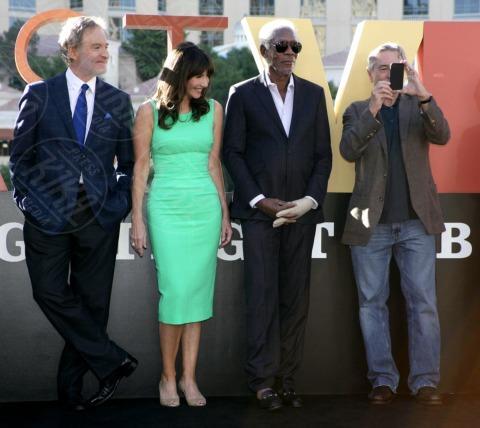 Mary Steenburgen, Morgan Freeman, Kevin Kline, Robert De Niro - Las Vegas - 18-10-2013 - Douglas, De Niro, Freeman, Kline: eravamo 4 amici a Las Vegas