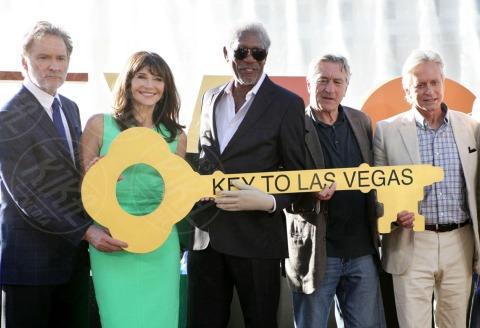 Mary Steenburgen, Morgan Freeman, Kevin Kline, Robert De Niro, Michael Douglas - Las Vegas - 18-10-2013 - Douglas, De Niro, Freeman, Kline: eravamo 4 amici a Las Vegas