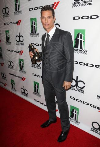 Matthew McConaughey - Beverly Hills - 22-10-2013 - Volata Oscar 2014: Matthew McConaughey, l'outsider in paradiso