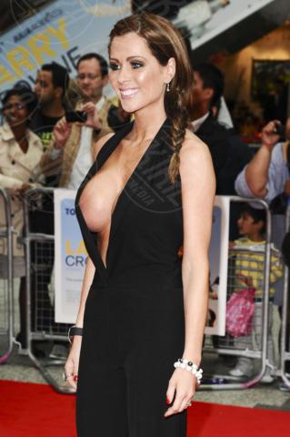 Nicola McLean - Londra - 06-06-2011 - Quando i vestiti non fanno il loro dovere la gaffe è assicurata