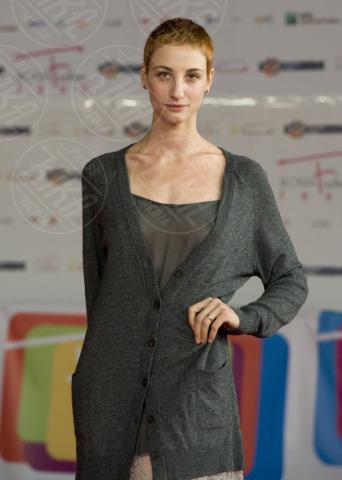 Francesca Inaudi - Roma - 05-01-2010 - Quando i vestiti non fanno il loro dovere la gaffe è assicurata