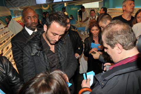 Giampaolo Pazzini - Milano - 24-10-2013 - Interisti e milanisti riuniti nel nome della moda