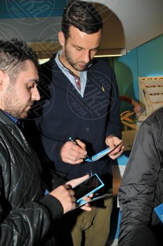 Samir Handanovic - Milano - 24-10-2013 - Interisti e milanisti riuniti nel nome della moda