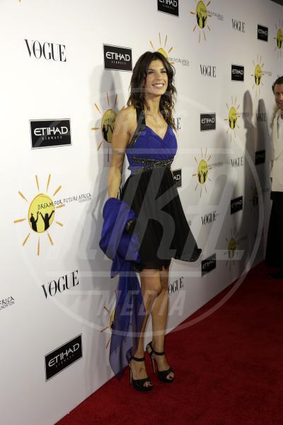 Elisabetta Canalis - Los Angeles - 25-10-2013 - Los Angeles rende omaggio a Franca Sozzani sognando l'Africa