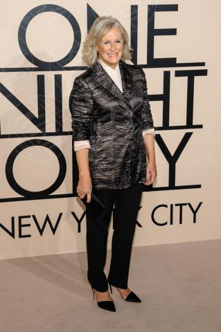 Glenn Close - New York - 24-10-2013 - Giorgio Armani riunisce le celebrity per One Night Only