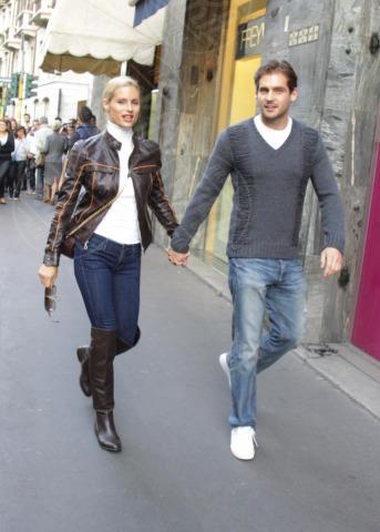 Tomaso Trussardi, Michelle Hunziker - Milano - 20-10-2012 - Non solo divorzi, in arrivo una cascata di fiori d'arancio