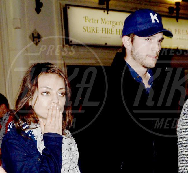 Mila Kunis, Ashton Kutcher - Londra - 01-06-2013 - Non solo divorzi, in arrivo una cascata di fiori d'arancio