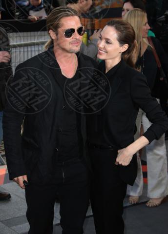 Angelina Jolie, Brad Pitt - Parigi - 04-07-2013 - Non solo divorzi, in arrivo una cascata di fiori d'arancio