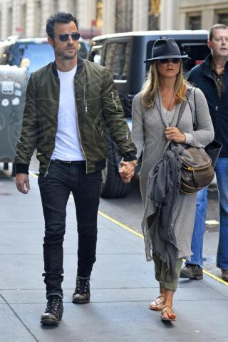 Justin Theroux, Jennifer Aniston - New York - 12-05-2013 - Non solo divorzi, in arrivo una cascata di fiori d'arancio