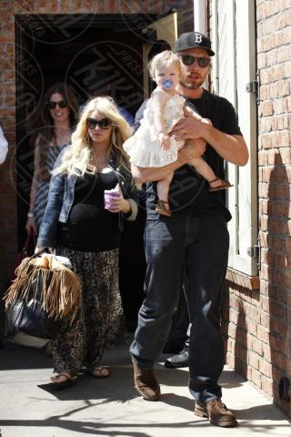 Eric Johnson, Maxwell, Jessica Simpson - Los Angeles - 06-04-2013 - Non solo divorzi, in arrivo una cascata di fiori d'arancio