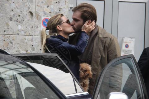 Tomaso Trussardi, Michelle Hunziker - Milano - 19-10-2013 - Non solo divorzi, in arrivo una cascata di fiori d'arancio